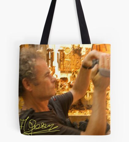 Travel - CORFU 2006. As much as you can , as far as you can , as long as you can.Doctor Faustus. Tote Bag
