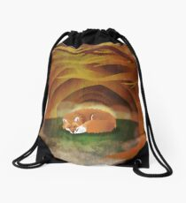 Deep in the Woods Drawstring Bag