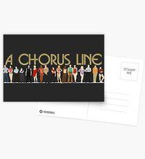 A Chorus Line Postcards