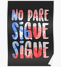 No Pare Sigue Sigue | In the Heights Poster