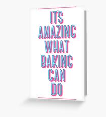 What Baking Can Do   Waitress Greeting Card