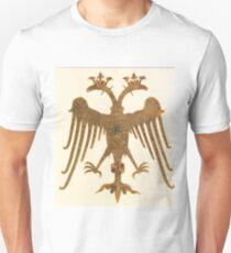 medieval double headed bird design T-Shirt