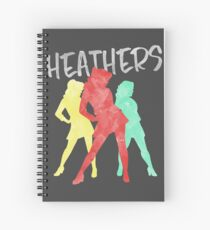 Heathers Spiral Notebook