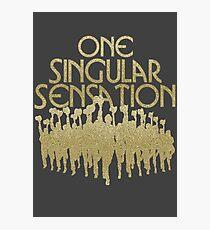 Eine Singular Sensation   Eine Chorus-Linie Fotodruck
