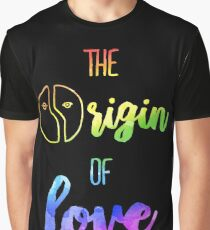 The Origin of Love | Hedwig and the Angry Inch Graphic T-Shirt