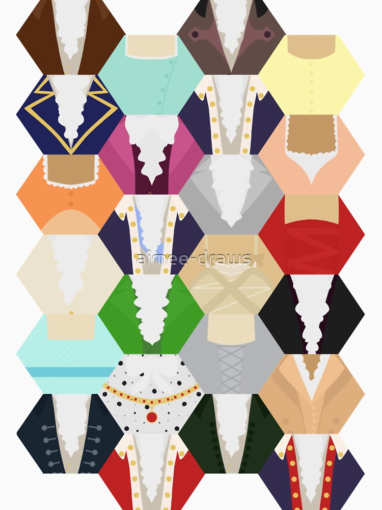 Costume Patchwork   Hamtilton de aimee-draws
