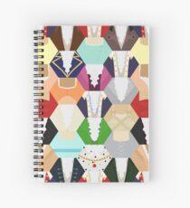 Cuaderno de espiral Costume Patchwork | Hamtilton