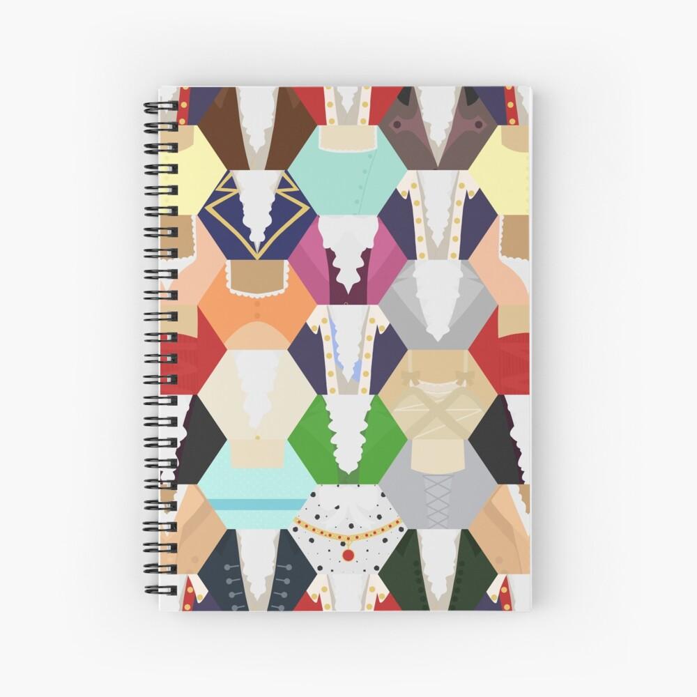 Costume Patchwork | Hamtilton Cuaderno de espiral