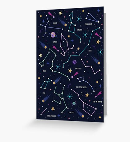 The Stars  Greeting Card