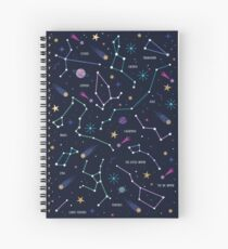 The Stars  Spiral Notebook