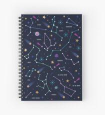 Cuaderno de espiral Las estrellas