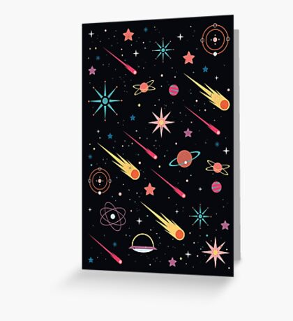 Fly Through Space  Greeting Card