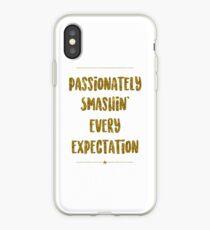 Passionately Smashin' Every Expectation | Hamilton iPhone Case
