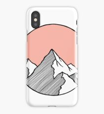 Mountains Sketch iPhone Case/Skin