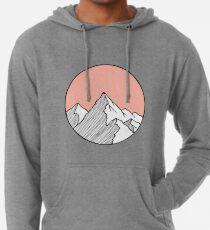 Mountains Sketch Lightweight Hoodie
