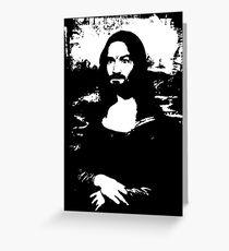 Mona Manson Greeting Card