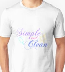 Simple and Clean  Unisex T-Shirt