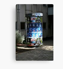 Coming Attractions Canvas Print