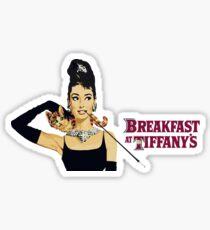 Breakfast at tiffany's | Audrey Hepburn Sticker