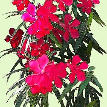 Tropical Flowers by DAdeSimone