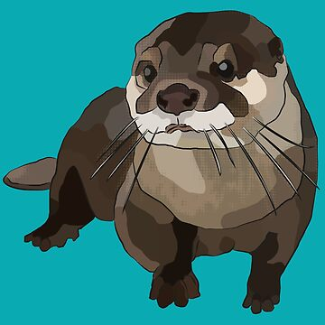 Significant Otter by BeeFoxTree