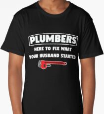 Plumbers Design Long T-Shirt
