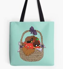 Go!Robins! - A Basket of Robins Tote Bag