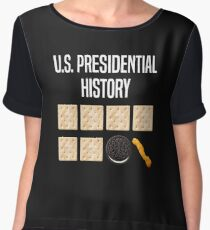 US President History anti-trump Chiffon Top