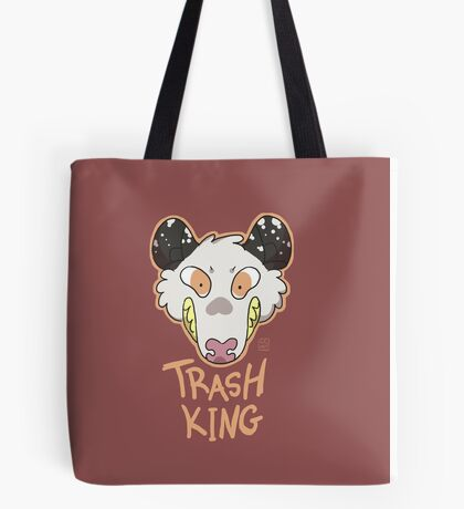 Trash King Tote Bag