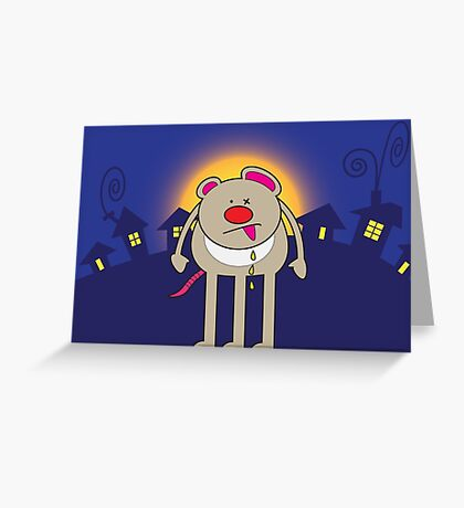 Mutant Mouse Greeting Card