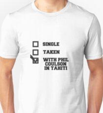 Phil Coulson Tahiti T-Shirt T-Shirt