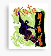 Skate Ninja! Canvas Print