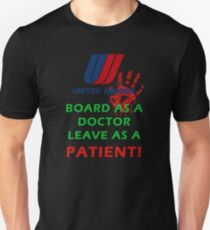 UNITED AIRLINES DOCTOR Unisex T-Shirt