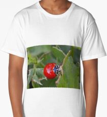 Lady Bug Leaves Long T-Shirt