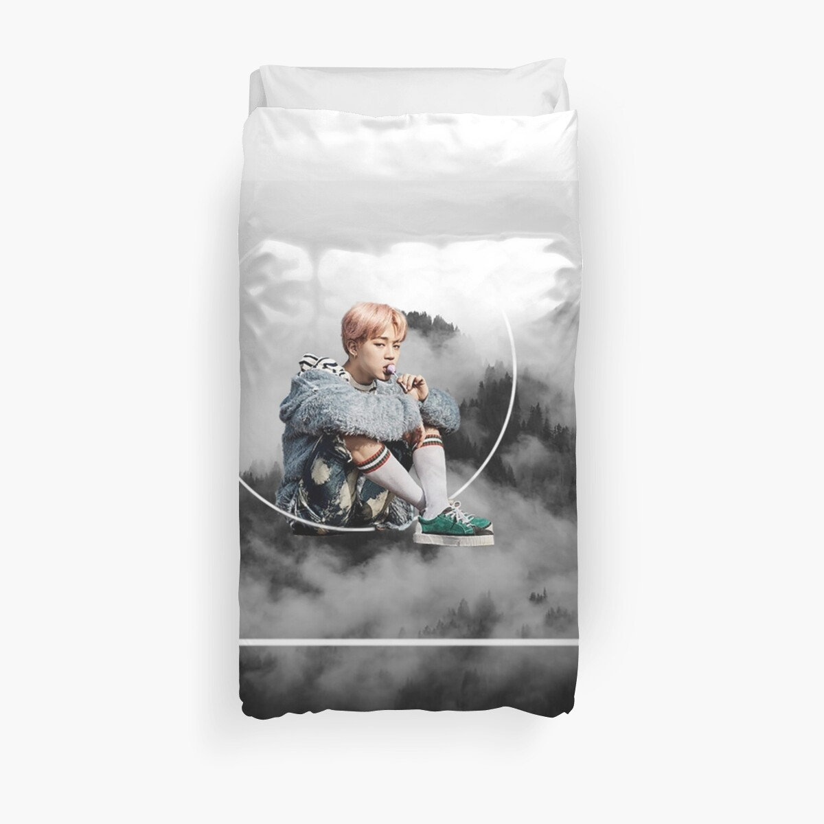 Quot Bts Jimin Nature Quot Duvet Covers By Seoulfood Redbubble