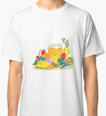 Chicken and easter eggs Classic T-Shirt