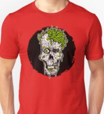 Zombie With Worms Unisex T-Shirt