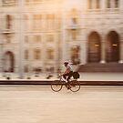 Riding in Budapest by Tomáš Hudolin