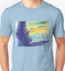 Blue Ridge Sunset Unisex T-Shirt