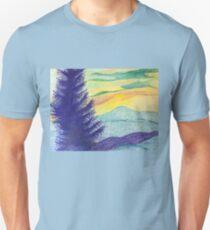 Blue Ridge Sunset Unisex T-Shirt