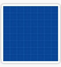 Blueprint  Sticker