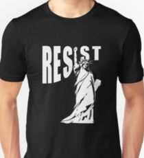 Resist Lady Liberty Unisex T-Shirt