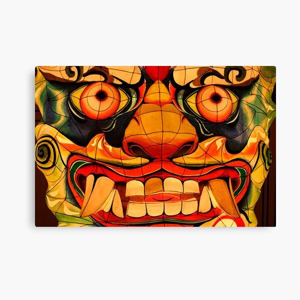 Asian Devil Canvas Print