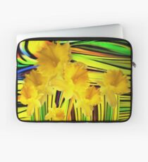 Daffodils Gone Wild Laptop Sleeve