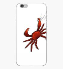 Funny crab iPhone Case