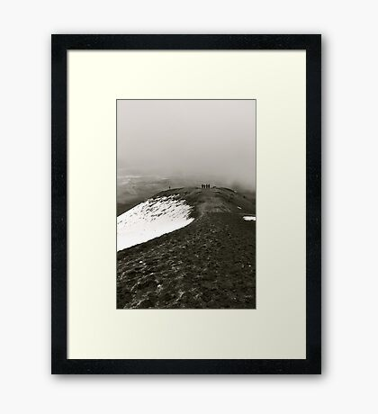 Looking Back on Cotopaxi Framed Print