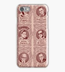 Tango Orchestra Leaders (in red) iPhone Case/Skin