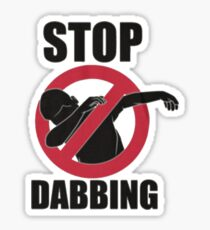 Stop Dabbing Lil Dicky Pillow Talking Sticker
