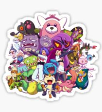 Team Rocket - Past & Present Sticker