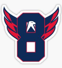 Alexander Ovechkin Washington Capitals Sticker